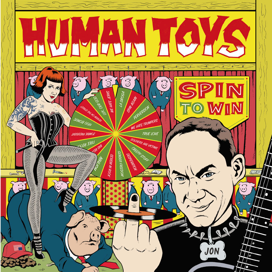 Human Toys – Spin To Win LP