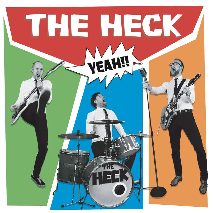THE HECK - Heck Yeah! LP